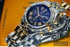 """BREITLING """"CROSSWIND"""" Stainless steel & Yellow gold"""